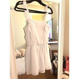 ZARA little white dress.